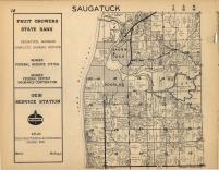 Saugatuck T3N-R16W, Allegan County 1954